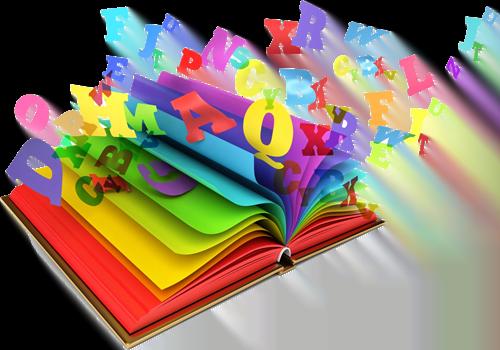 Colourful book